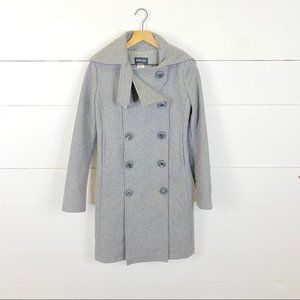 Patrizia Pepe Gray Wool Coat Size 42